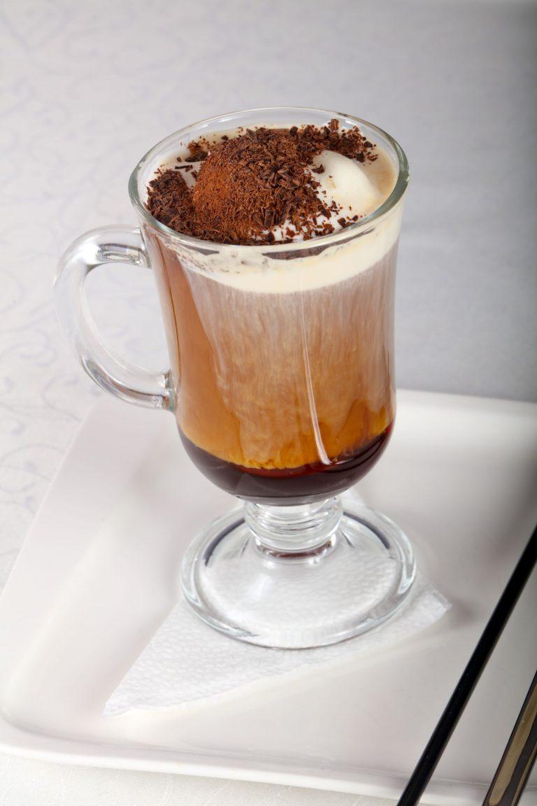 технология приготовления кофе гляссе